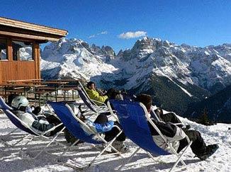 Dolomity Alpy restaruace