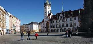 Olomouc ubytování náměstí